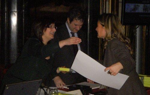 Reconocimiento p�blico al CMN por parte de Jordi Hereu, alcalde de BCN